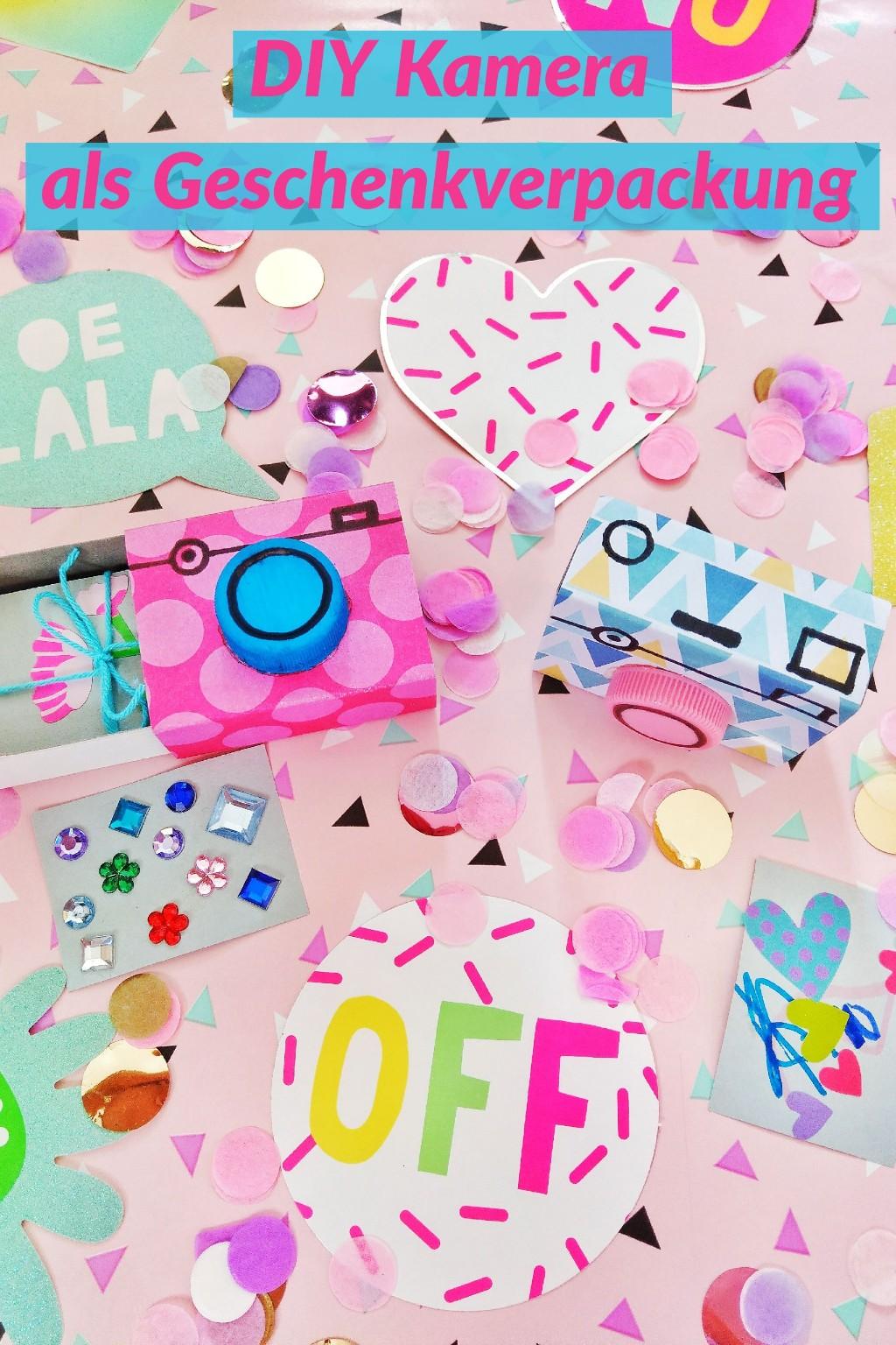Wie ihr diese originelle Geschenkverpackung basteln könnt, zeige ich euch hier. Für Kinder zum Geburtstag oder für den Mann zu Valentinstag, Es gibt viele Möglichkeiten diese DIY Kamera zu befüllen. Einfach und schnelle Upcycling Idee zum nachmachen.