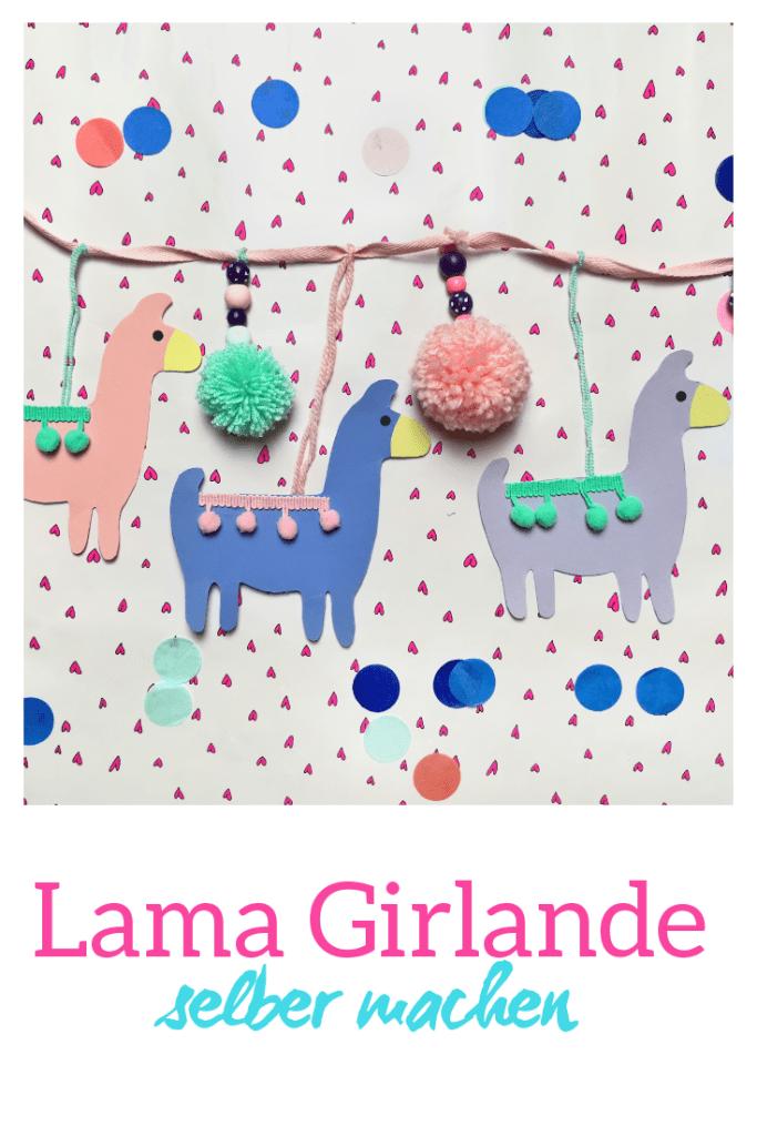 Hier zeige ich euch wie ihr eine Lama Dekoration ganz einfach selbermachen könnt. Eine tolle DIY Deko Idee für das Kinderzimmer.