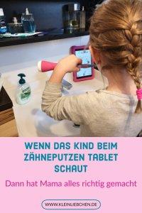 Wie auch ihr ohne Drama mit euren Kindern Zähne putzen könnt, erfahrt ihr hier. Ein Erfahrungsbericht über Tablet und Zahnhygiene. Tolle Tipps zum umsetzten.