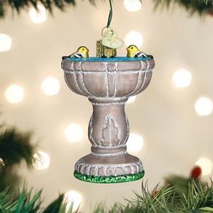 Birdbath Ornament