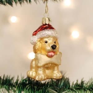 Jolly Pup Ornament