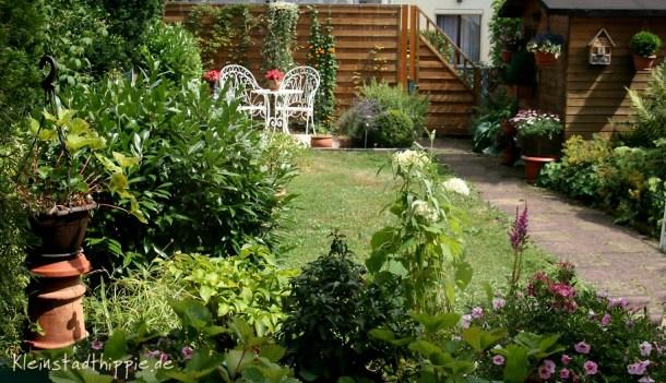 Mein geliebter Garten im Sommer