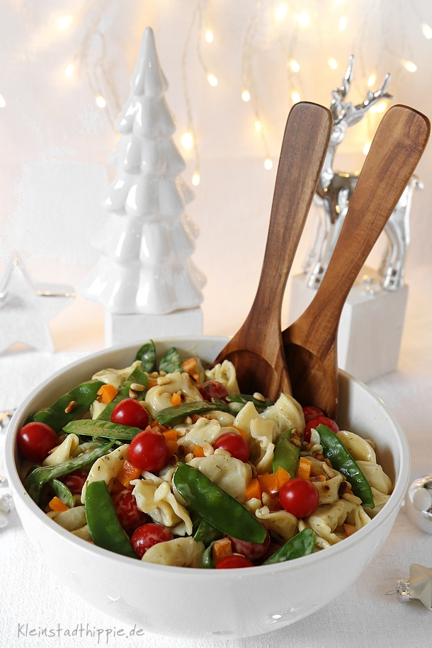 Veganer Tortellinisalat