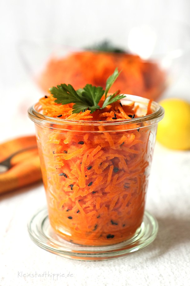 Einfach lecker - Karottensalat