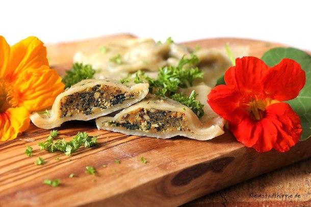 Vegane Maultaschen aus der schwäbischen Küche