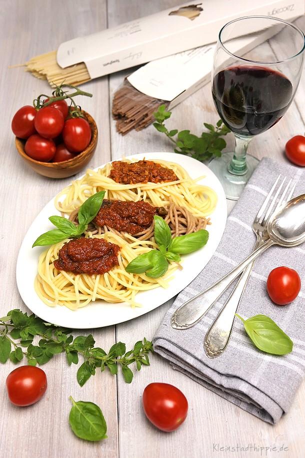 Bio Spaghetti aus Bio-Hartweizengrieß und Vollkorn-Dinkelmehl