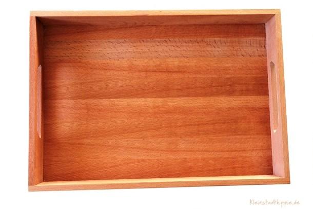 Gewinnspiel - Holztablett Buche von NATUREHOME