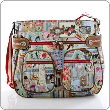 pip studio Collage shoulderbag via milksugar