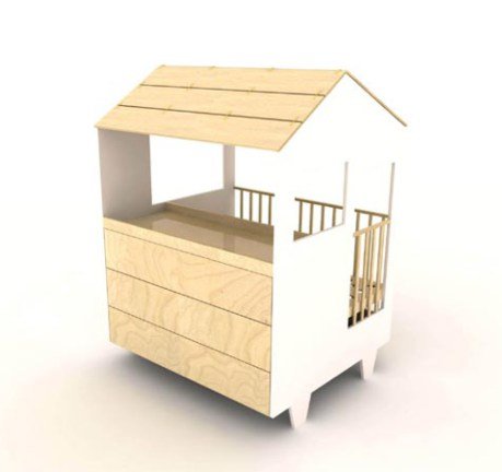 Bett, Wickeltisch, Kommode : Traum-Haus