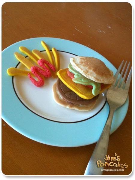 Jim's Pancakes : ach das ist gar kein Burger?!?