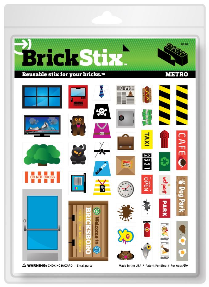 BrickStix : Wechsel-Gewänder für deine Bausteine