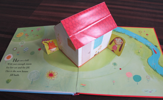 The House That Jill Built : Lift-the-flap und Pop-up Buch