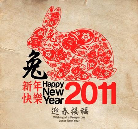 Chinesisches Neujahr : Jahr des Hasen