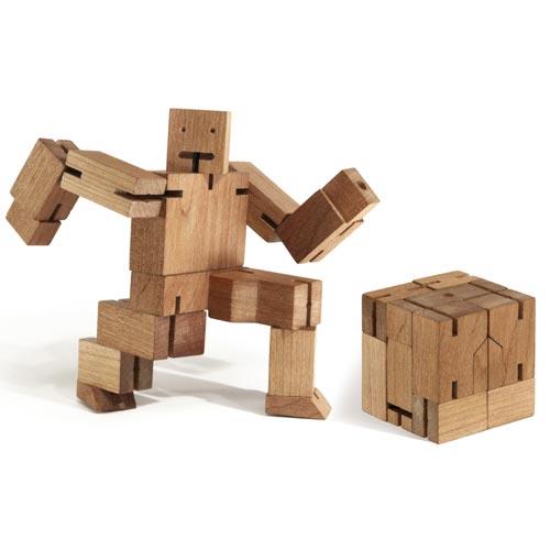 Holzwürfel oder Roboter : Cubebot