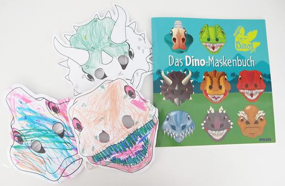 Dinosaurier Geburtstags bash : Kindergeburtstag auf kleinstyle.com Dino Party Dino Masken Buch