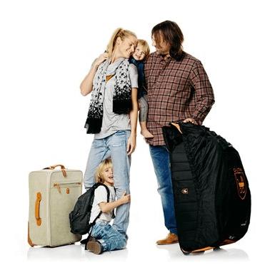 Stokke PramPack : auf Reisen alles dabei