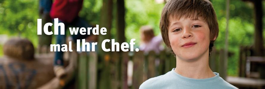 Spenden bildet! : Unsere Kinder, die Chefs von morgen