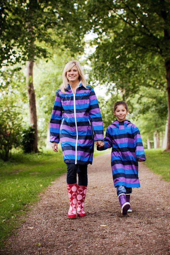 danefae Regenjacken Mutter-Kind Partnerlook