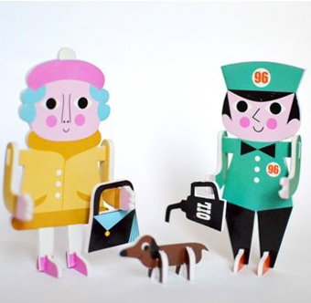 Character Parade : 2D Puzzle zum Spielen und Dekorieren