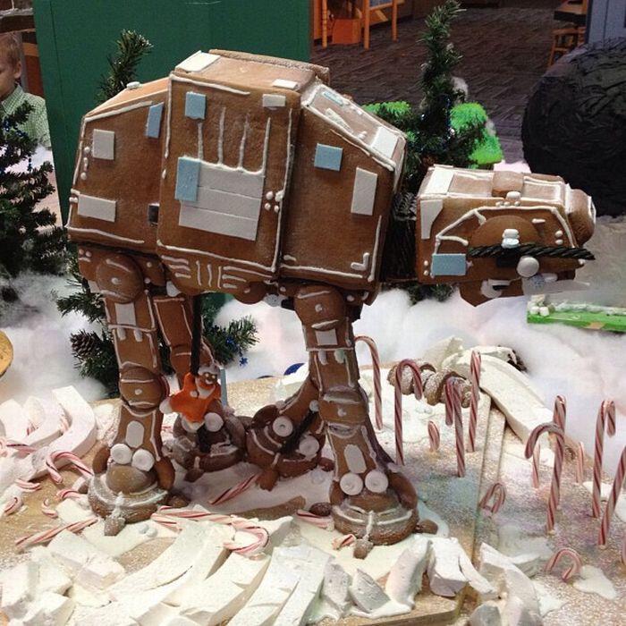 Star Wars Weihnachten : Lebkuchen