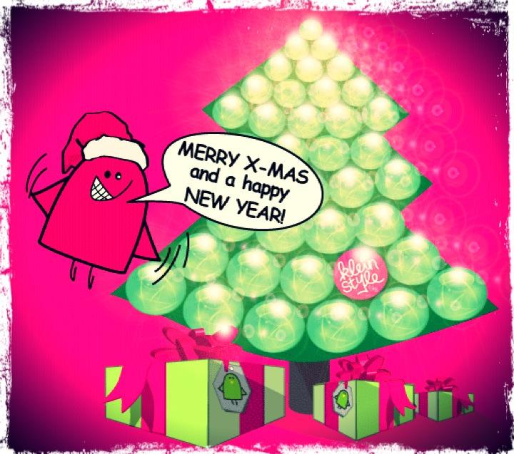 Frohe Weihnachten : euch allen!
