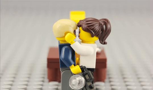 LEGO Hochzeit : der Antrag