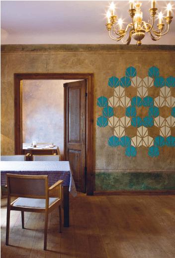 Znak Mosaic DIY Tapete