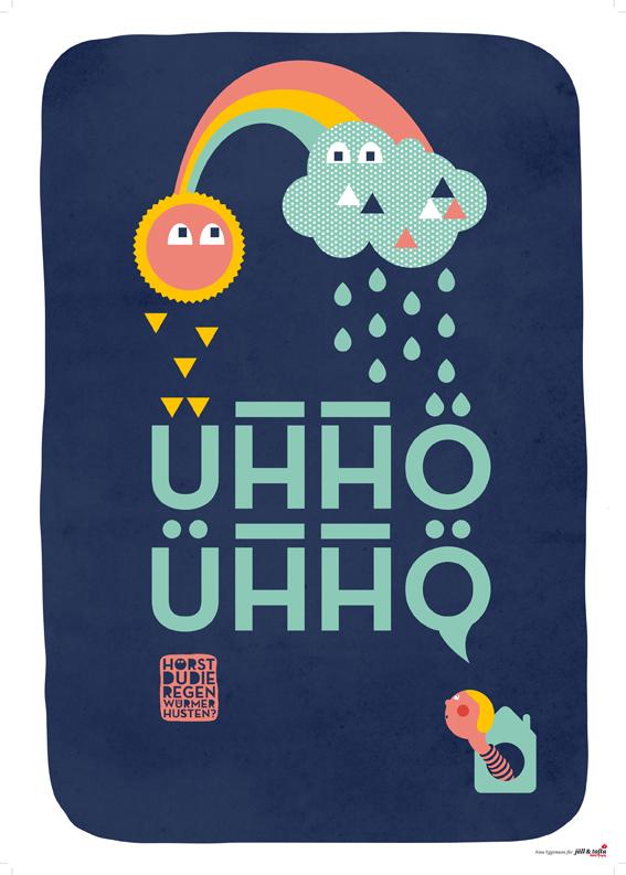 Ühhö, Ühhö : Sind das Regenwürmer?!