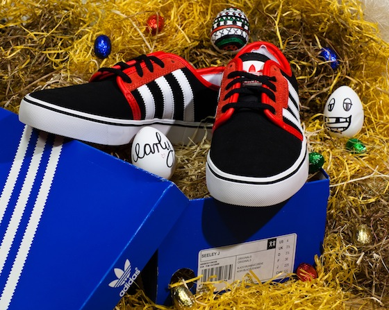 Early verlost Sneaker : nix wie mitgemacht!