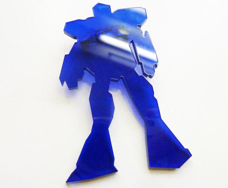 SupaRina Plexiglasschmuck Roboter für Kids und Erwachsene