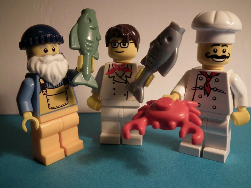 Tims Fish Fight : Helft mit!