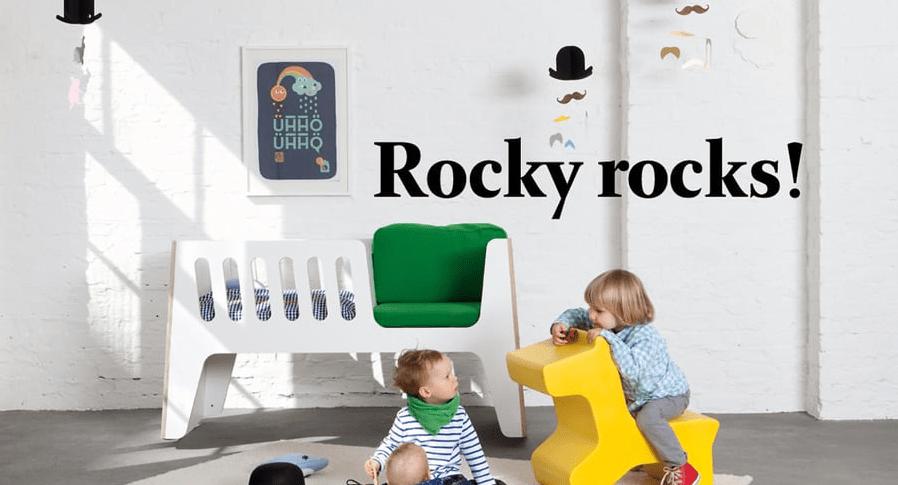 Rocky rocks : so funktioniert das Wiegenbett!