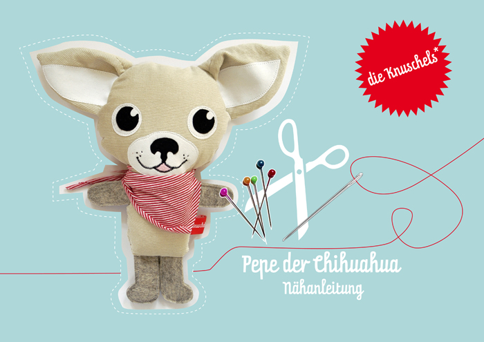 Knuschels Chihuahua Pepe : Selbernähen!