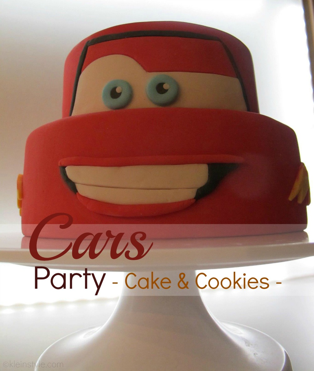 Kid's birthday : scrumptious Lightning McQueen