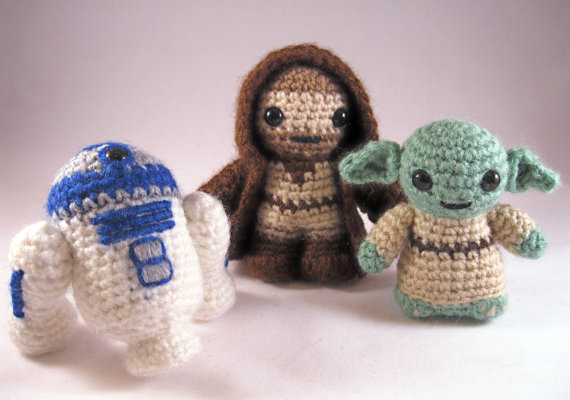 Handmade : Star Wars for cuddling