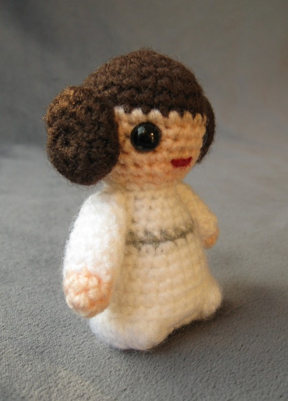 lucy ravenscar star wars amigurumi patterns princess leia