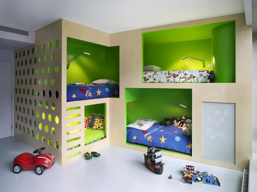 Incorporated NY Bohemian Apartment Boys Bedroom