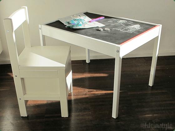 DIY Projekt : Kindertisch Make-Over