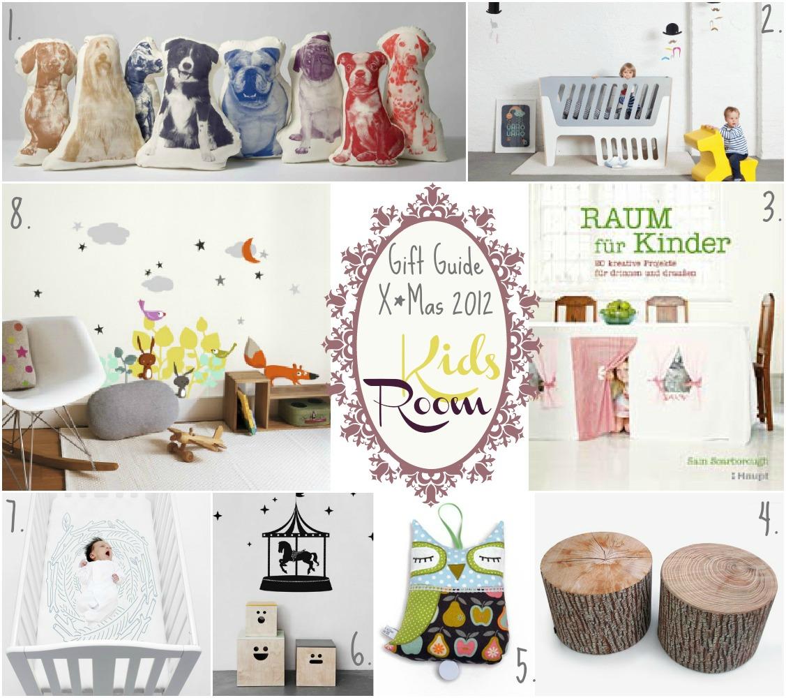 Gift Guide X*Mas 2012 : Kids Room