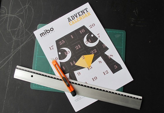 mibo.co.uk free advent calendar gratis download