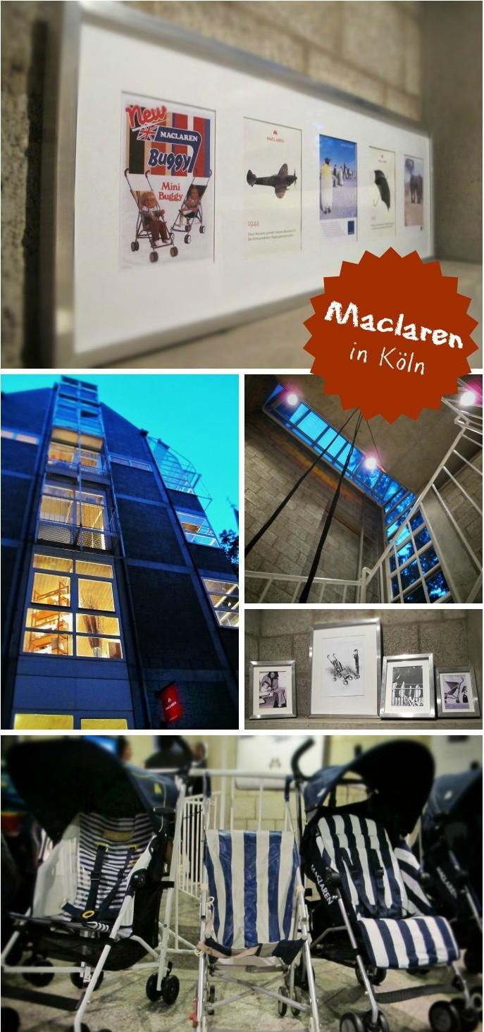 Maclaren buggy showroom in köln zur kind+jugend 2012