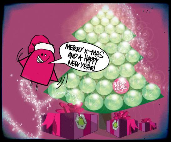 merry christmas from kleinstyle Frohe Weihnachten wünscht kleinstyle