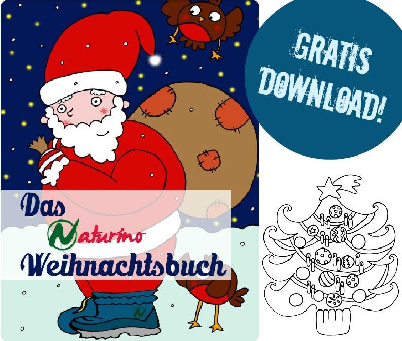 naturino Weihnachtsbuch zum gratis Downloaden und ausdrucken
