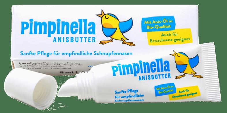 (Deutsch) Schmerzende Schniefnase : Pimpinella hilft!