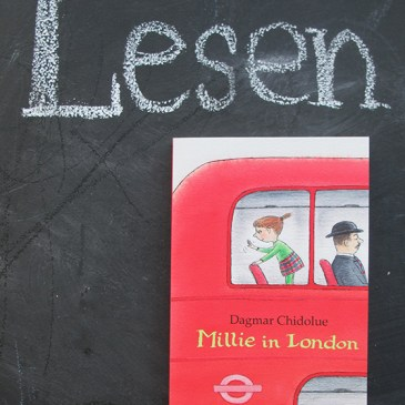 Lesen : Millie in London Kinderbuch auf kleinstyle.com von Dagmar Chidolue Lesung Millie in Berlin