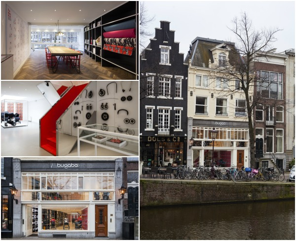 bugaboo flagship/ Brand store in AMSTERDAM
