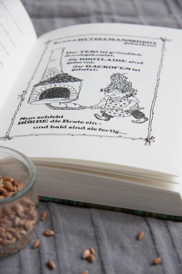 Das große Hörbe Buch von Otfried Preußler Hutzelmanns Brot Dinkel Apfelbrot Vitamix Rezept gesund backen mit und fuer Kinder und die ganze FamilieVitamix im Test