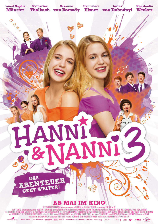 Media Montag : Kino mit den Zwillingen Hanni & Nanni