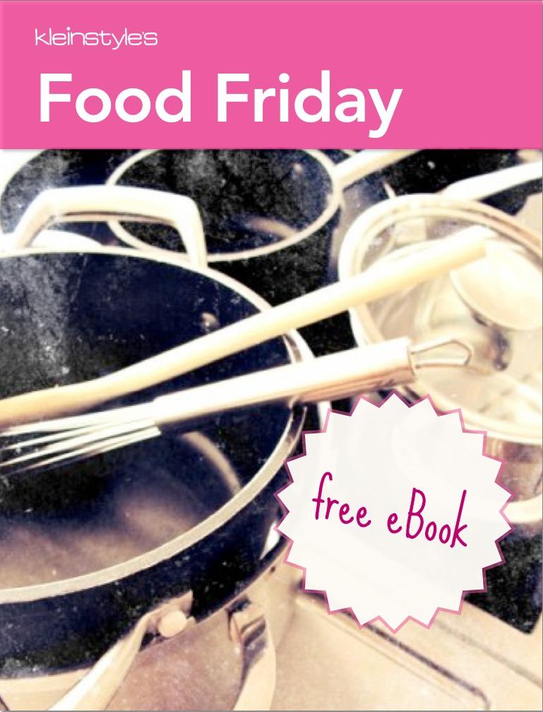 kleinstyle 1 year Food Friday free ebook