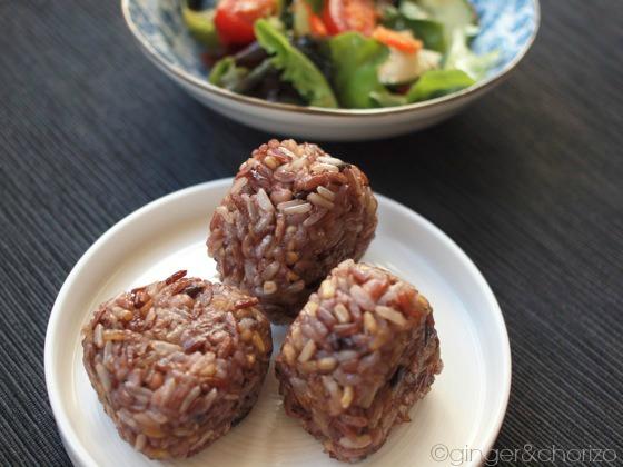 Food Friday : Grilled Rice Balls – Yaki Onigiri with 7 grains